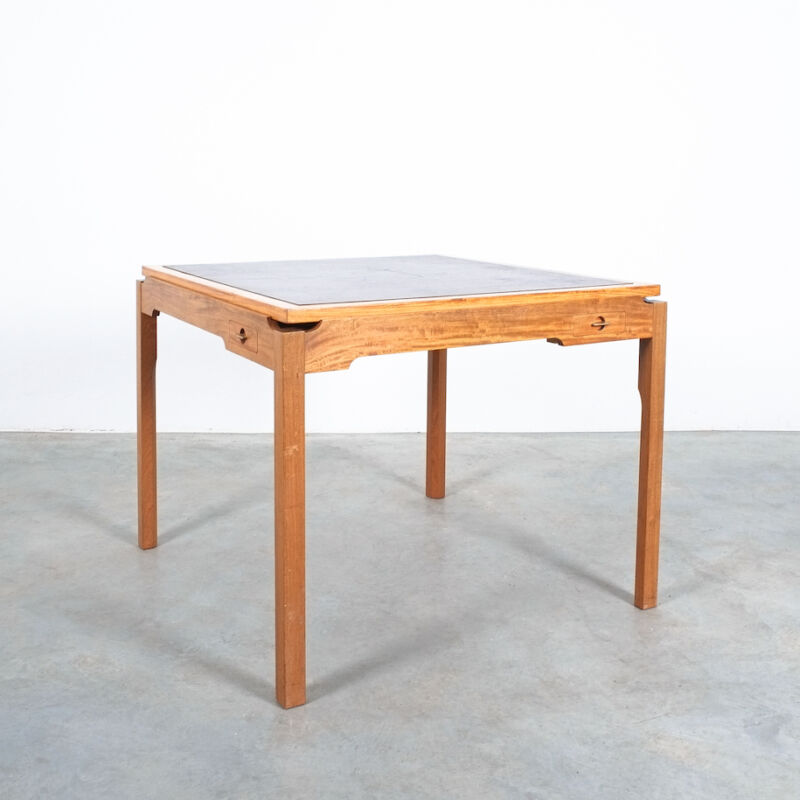 Gorm Lidum Game Table Teak 13
