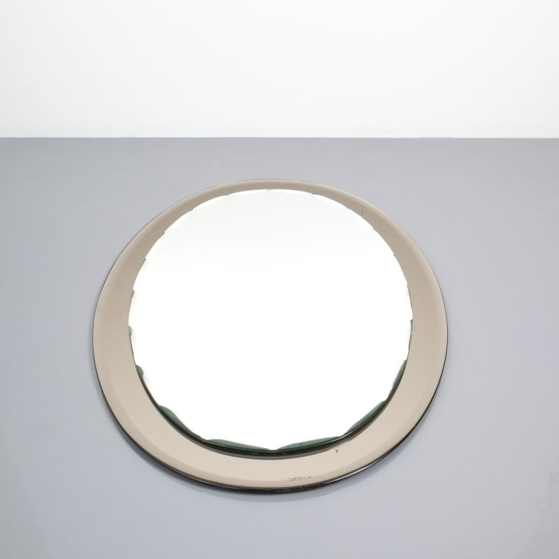 Italian Scalloped Mirror Fontana Arte 5