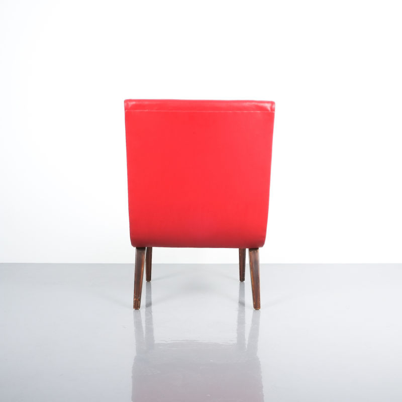 Jens Risom pair vinyl chairs 6 Kopie