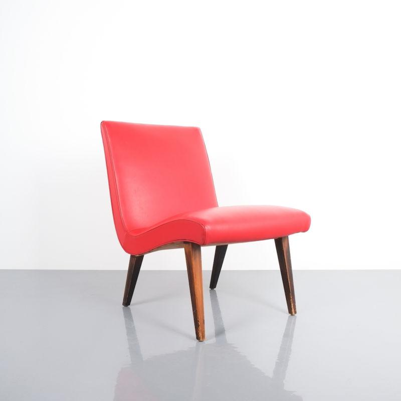 Jens Risom pair vinyl chairs 7 Kopie