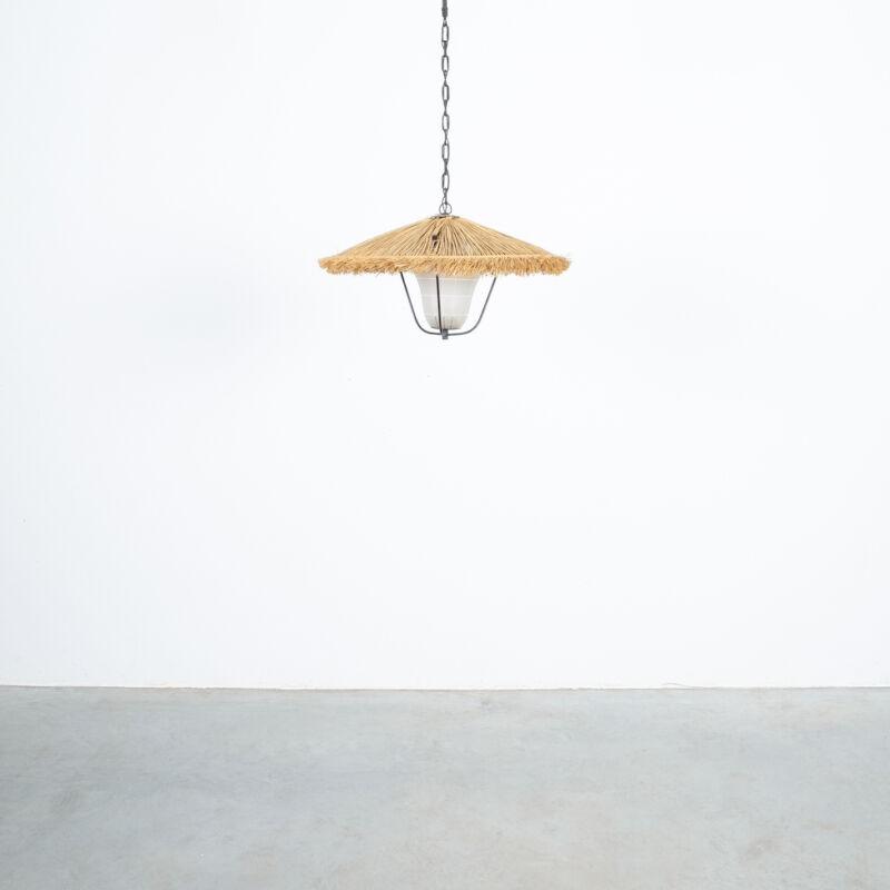 Kalmar Stube Straw Pendant Lamp 01