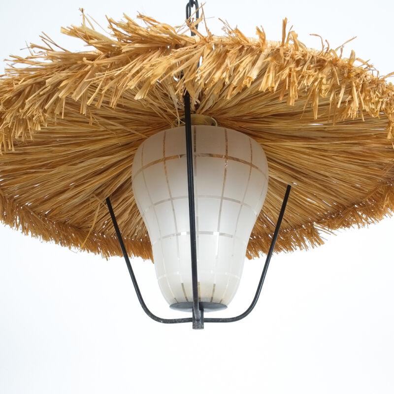 Kalmar Stube Straw Pendant Lamp 02