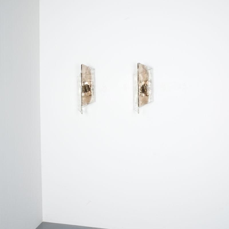 Kalmar Smoked Glass Sconces 01