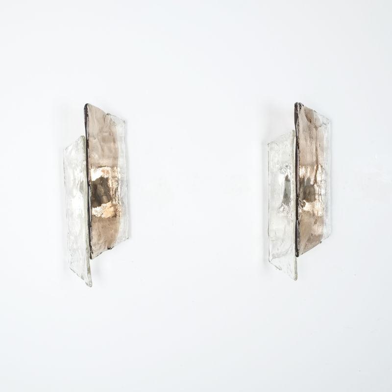 Kalmar Smoked Glass Sconces 10