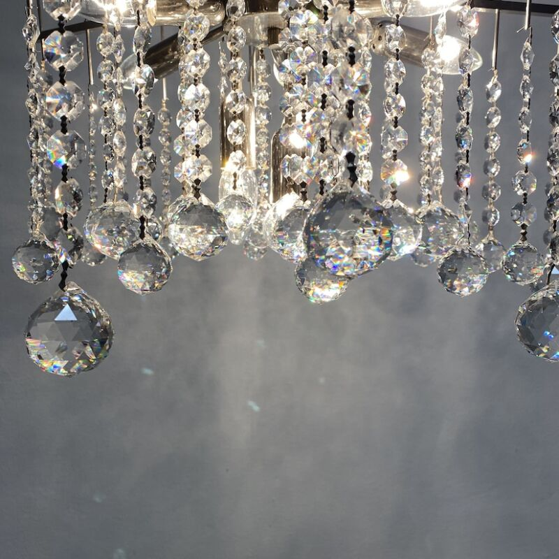 Kalmar Waterfall Chandelier Crystal 13