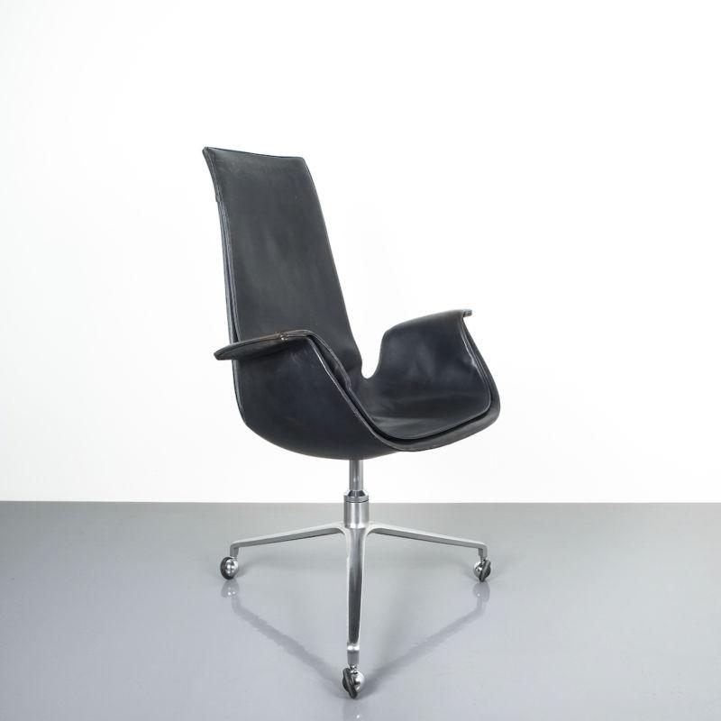Kastholm fabricius black blue chair_04 Kopie