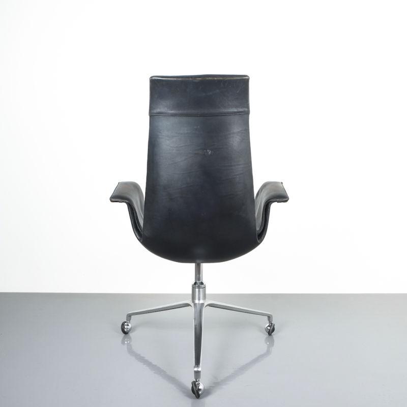Kastholm fabricius black blue chair_06 Kopie