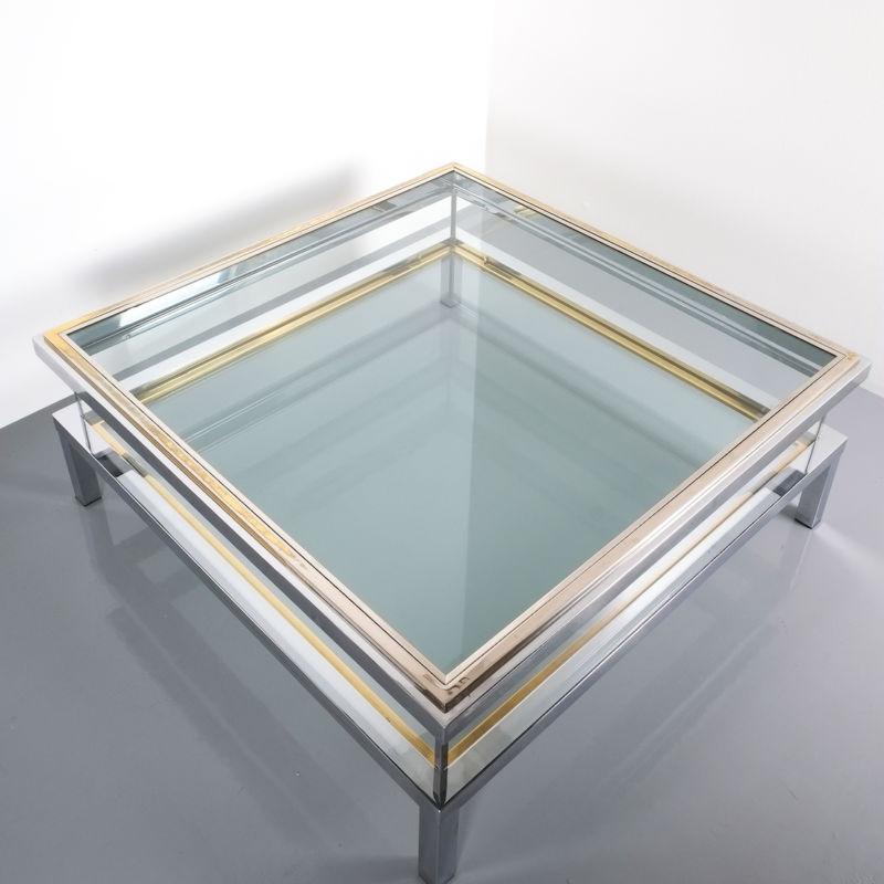 Maison Jansen vitrine table XXL 08 Kopie