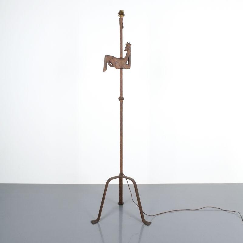 Marolles Touret floor lamp iron 1950_01