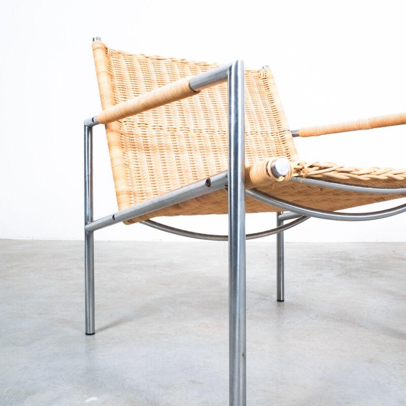 Martin Visser Wicker Chair Model SZ01 01