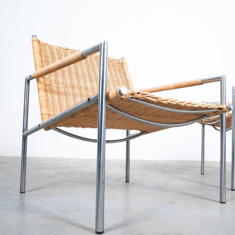 Martin Visser Wicker Chair Model SZ01 02