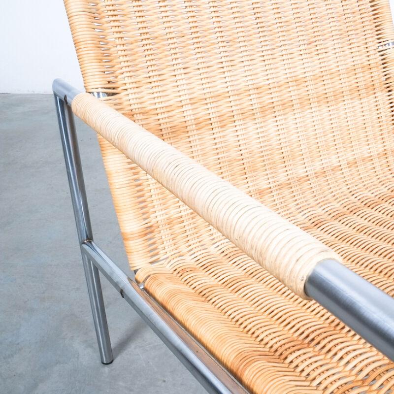 Martin Visser Wicker Chair Model SZ01 03