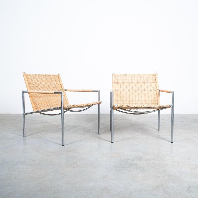 Martin Visser Wicker Chair Model SZ01 04