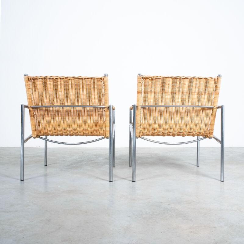 Martin Visser Wicker Chair Model SZ01 06