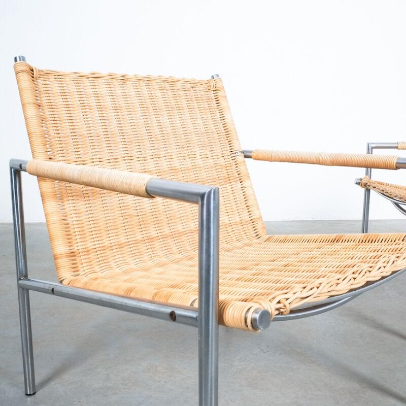 Martin Visser Wicker Chair Model SZ01 07
