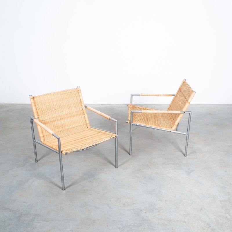 Martin Visser Wicker Chair Model SZ01 08