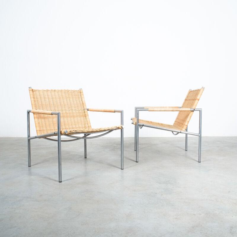 Martin Visser Wicker Chair Model SZ01 09