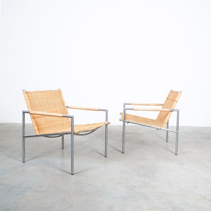 Martin Visser Wicker Chair Model SZ01 10