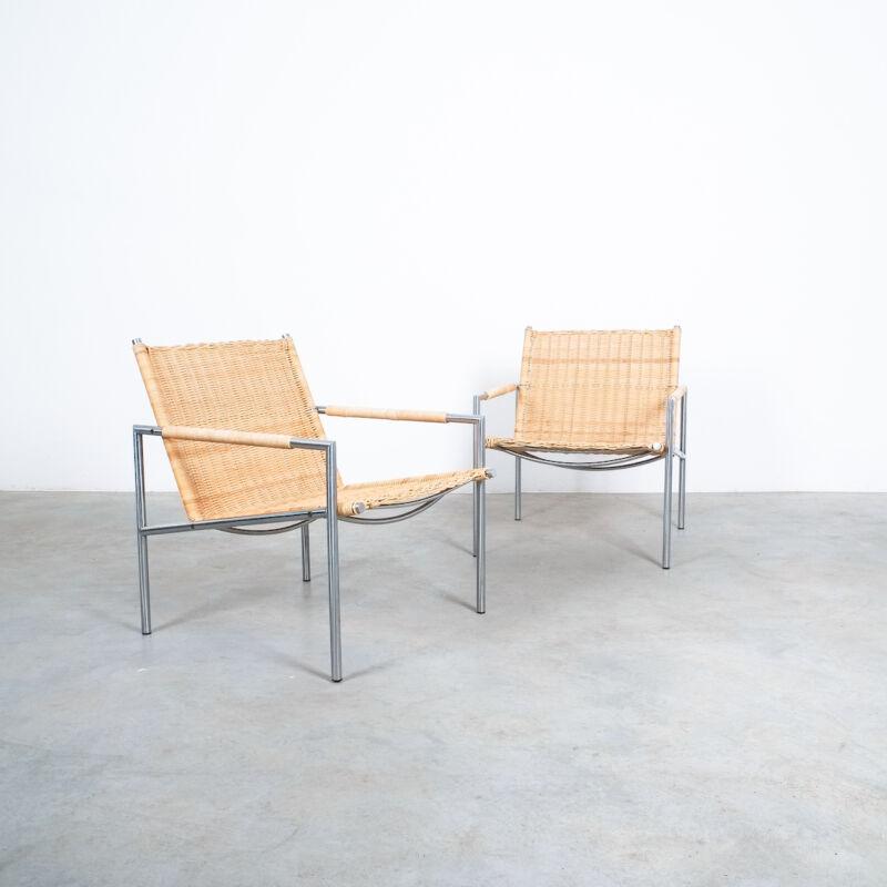 Martin Visser Wicker Chair Model SZ01 11