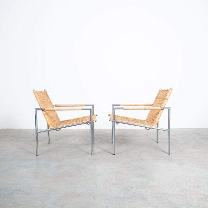 Martin Visser Wicker Chair Model SZ01 12