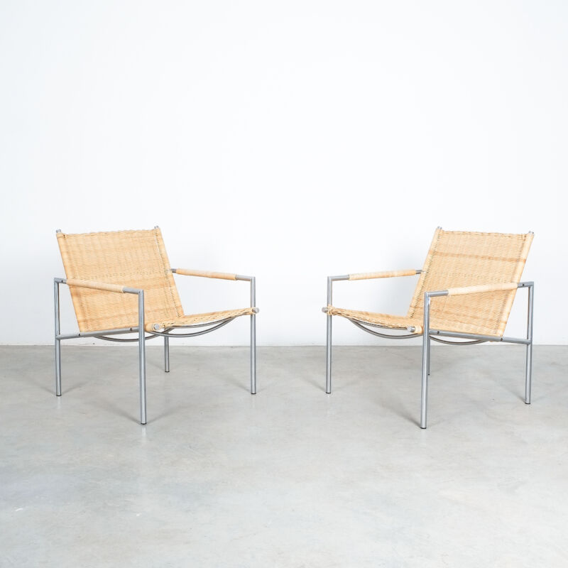 Martin Visser Wicker Chair Model SZ01 14