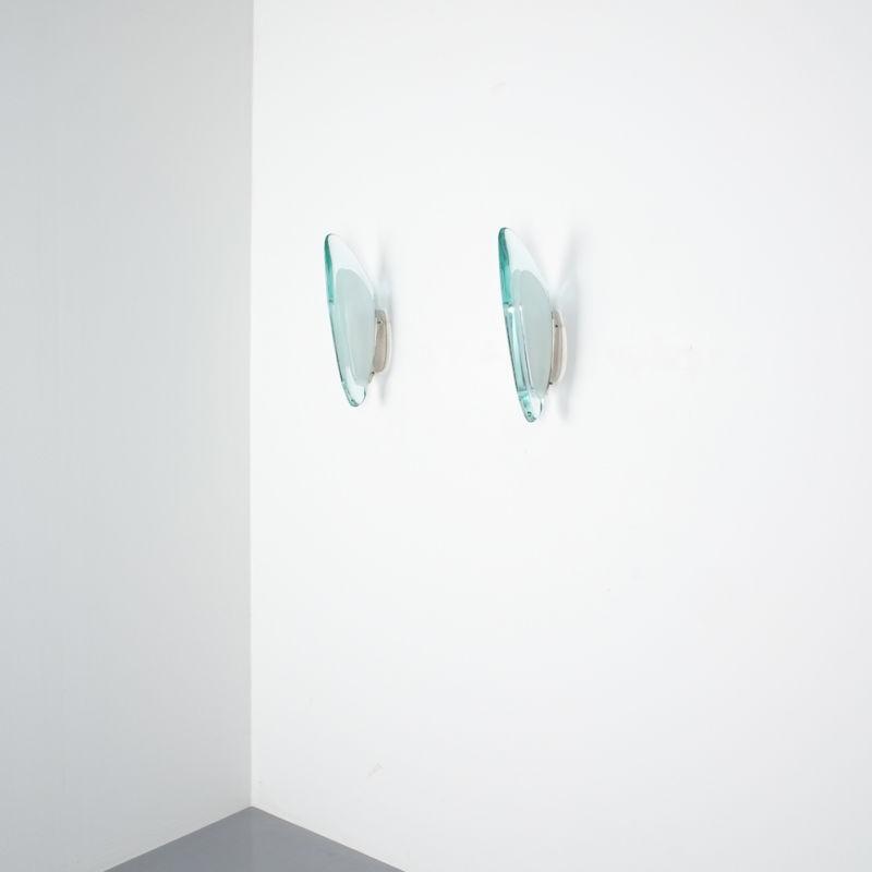 Max Ingrand Fontana Arte Sconces 1960 05