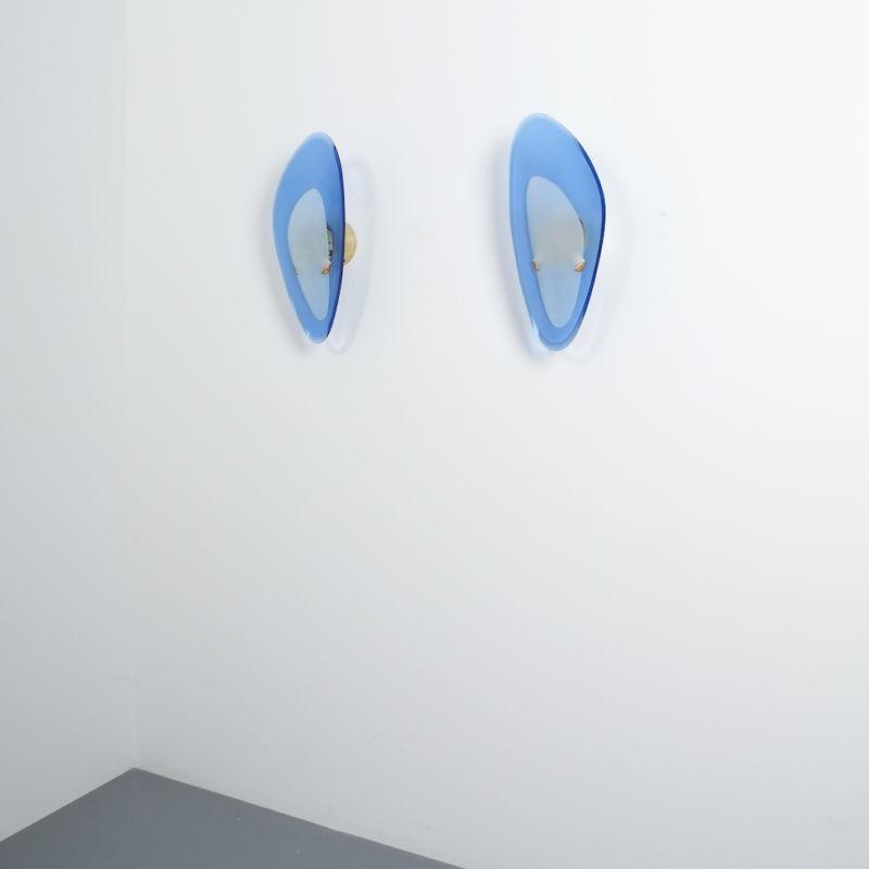 Max Ingrand Fontana Arte Glass Sconces 02