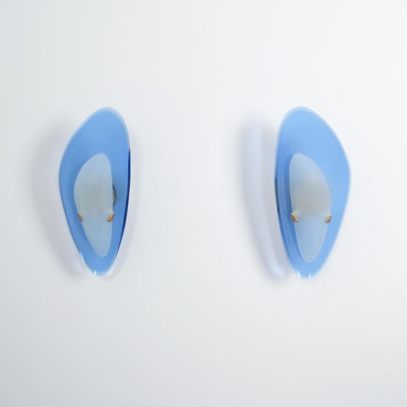 Max Ingrand Fontana Arte Glass Sconces 05