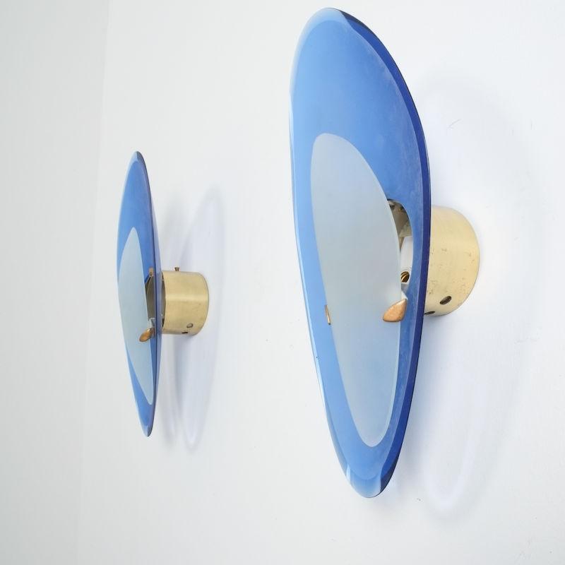 Max Ingrand Fontana Arte Glass Sconces 06
