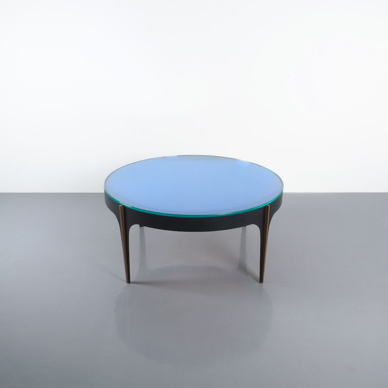 Max Ingrand Coffee Table 1774 Blue 01