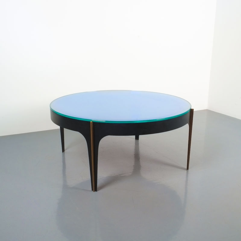 Max Ingrand Coffee Table 1774 Blue 03