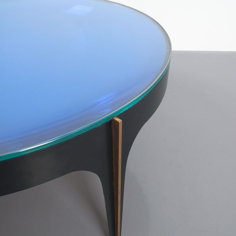 Max Ingrand Coffee Table 1774 Blue 06
