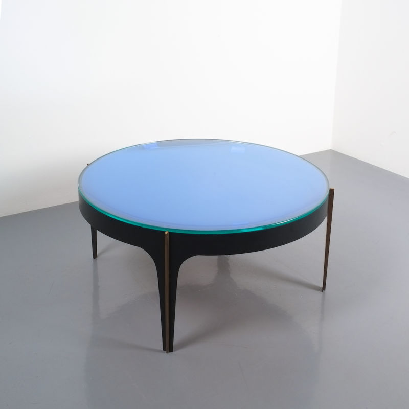Max Ingrand Coffee Table 1774 Blue 07