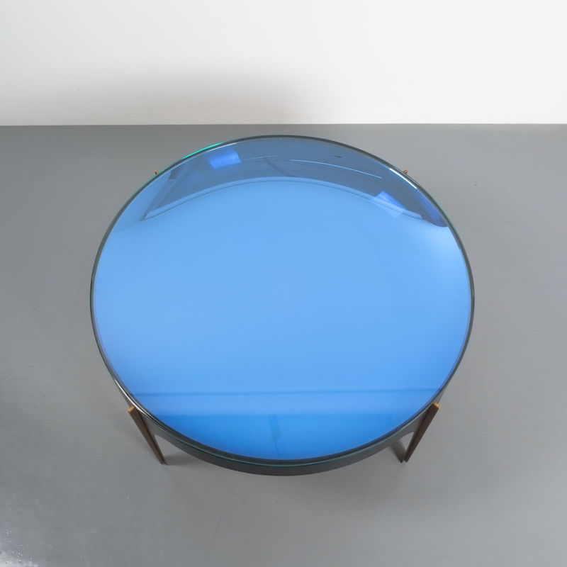 Max Ingrand Coffee Table 1774 Blue 09