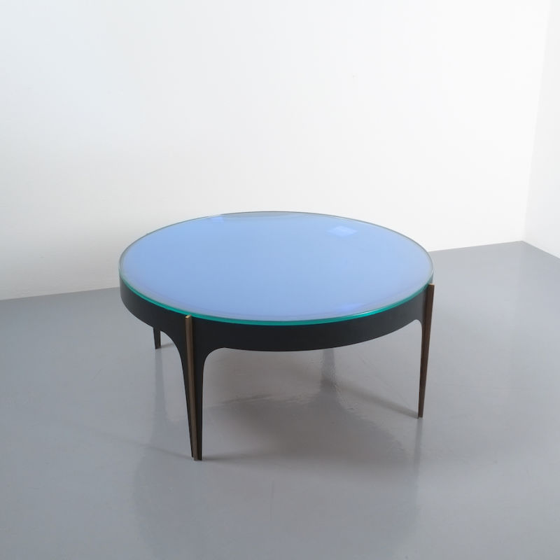 Max Ingrand Coffee Table 1774 Blue 13