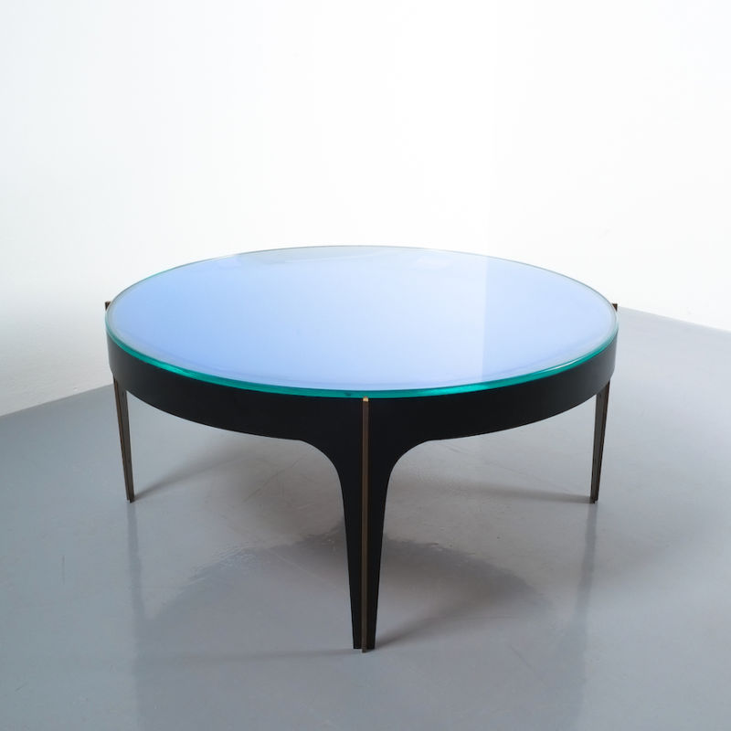 Max Ingrand Coffee Table 1774 Blue 14