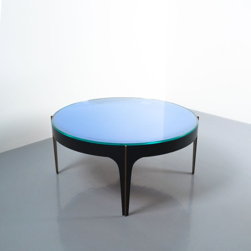 Max Ingrand Coffee Table 1774 Blue 15