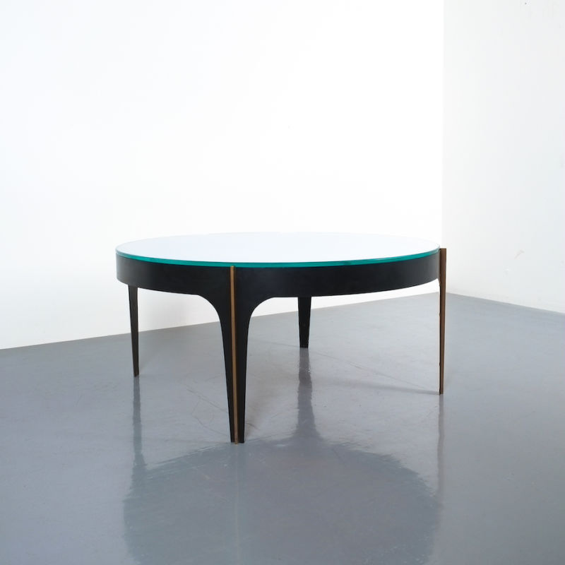 Max Ingrand Coffee Table 1774 Blue 18