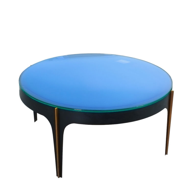 Max Ingrand Coffee Table 1774 Blue 24