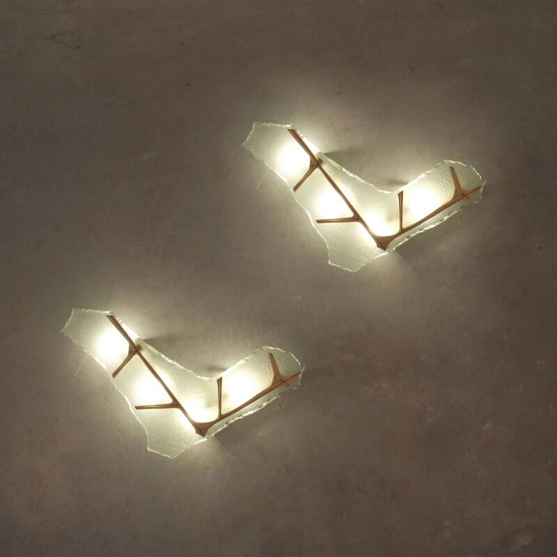 Max Ingrand Model 1844 Wall Lamps 13