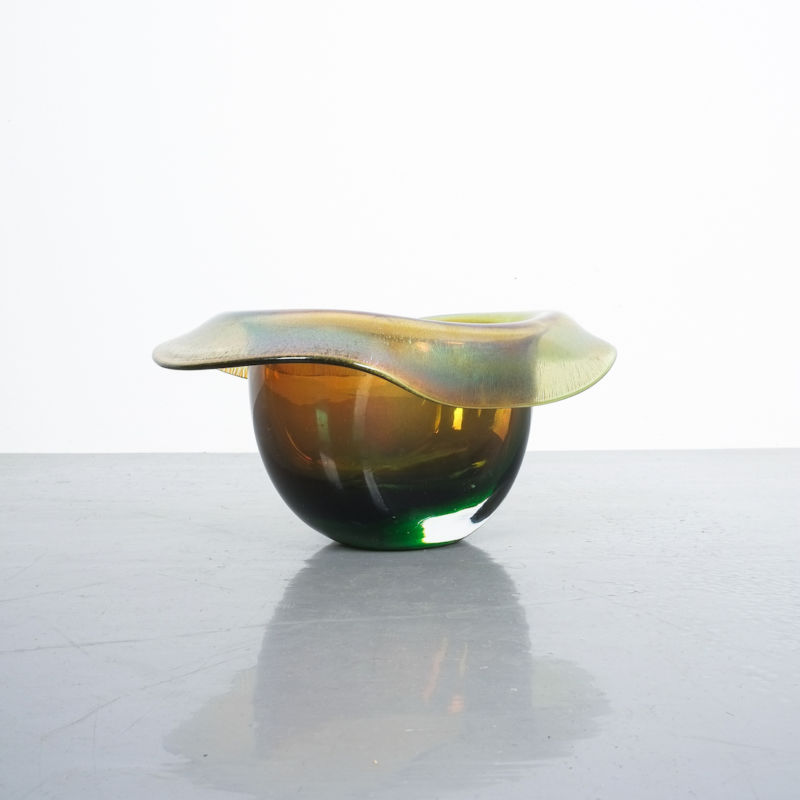 Murano Glass Hat Bowl Vase 02
