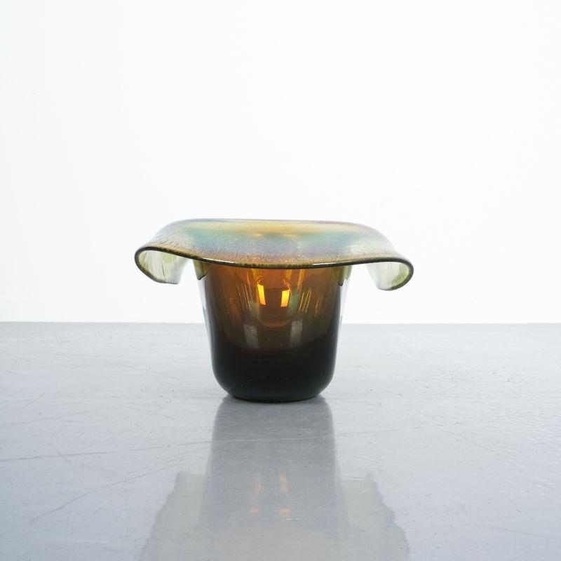Murano Glass Hat Bowl Vase 04