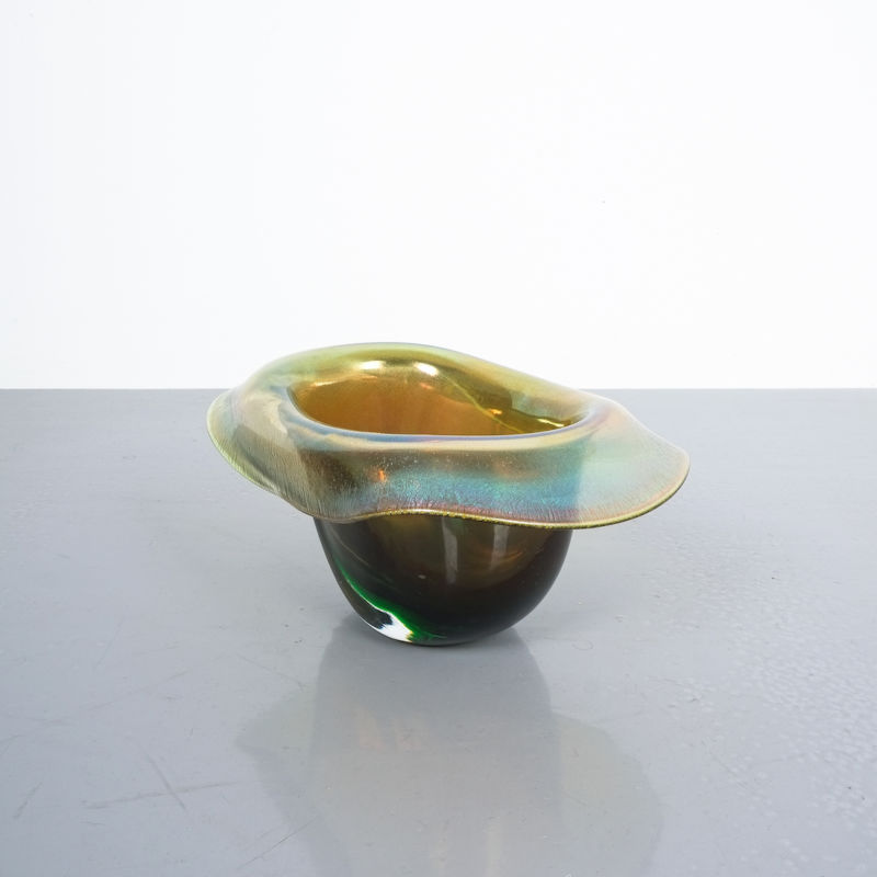 Murano Glass Hat Bowl Vase 05