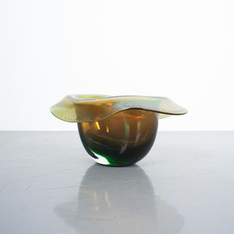 Murano Glass Hat Bowl Vase 06