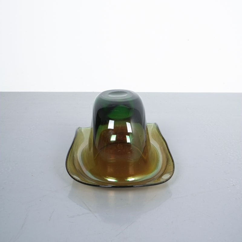 Murano Glass Hat Bowl Vase 08