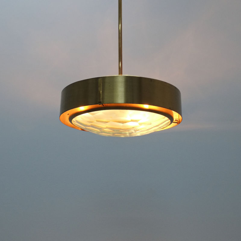 Rare Max Ingrand Pendant Lamp 13