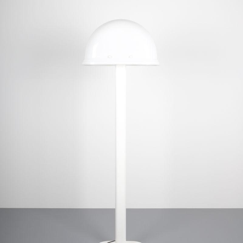 Rodolfo Bonetto floor lamp white