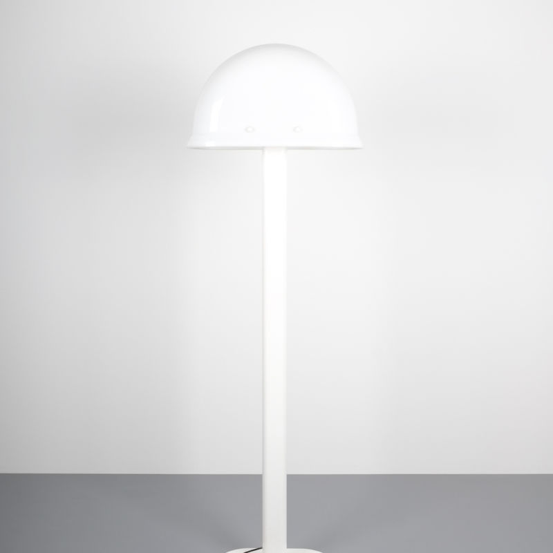 Rodolfo Bonetto floor lamp white