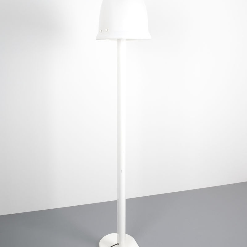 Rodolfo Bonetto floor lamp white 3 Kopie