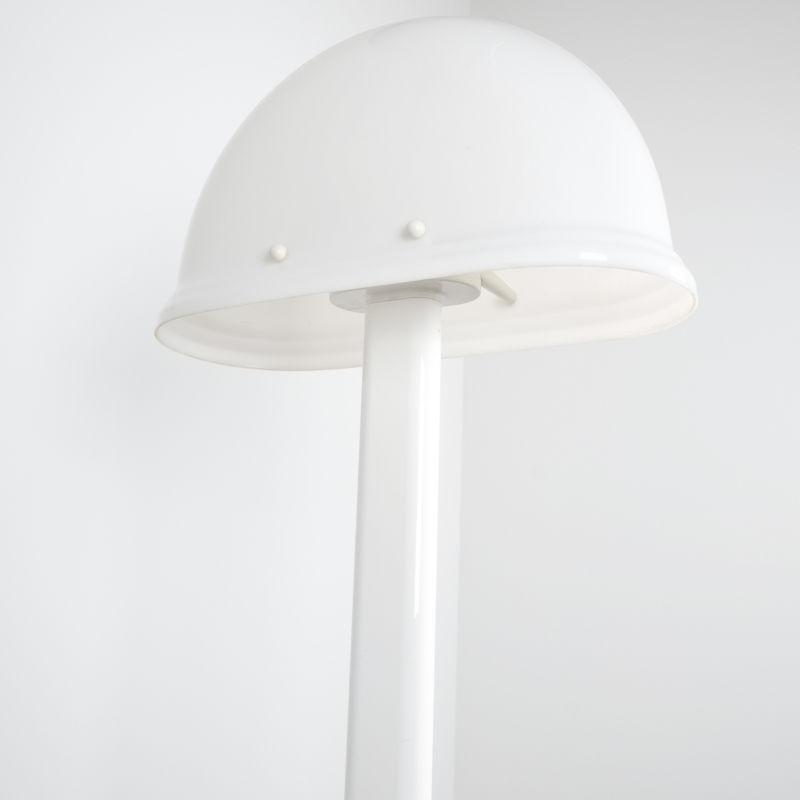 Rodolfo Bonetto floor lamp white 7 Kopie